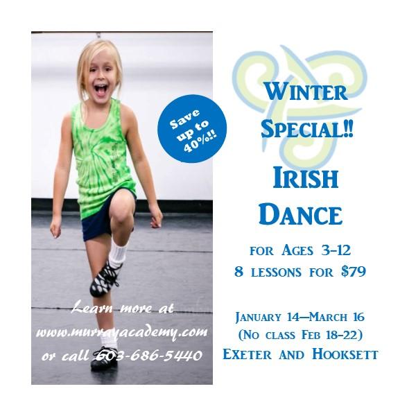 Free Irish Dance Classes In Lexington: New Hampshire Irish Dance School