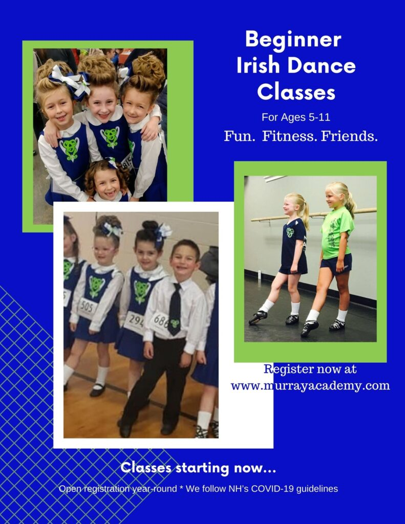 Beginner Irish Dance Classes